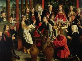 The Marriage Feast at Cana c.1500-03
