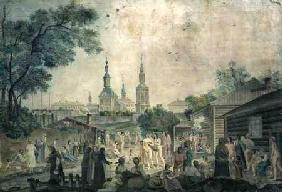 A Cure Bath in Moscow 1790  on