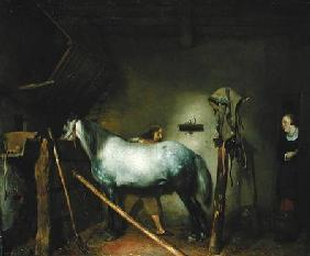 Horse in a Stable c.1652-54