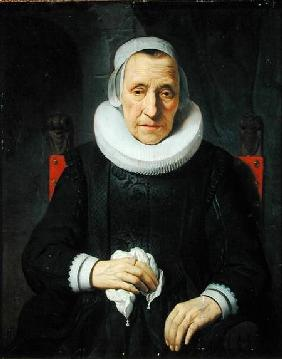 Portrait of an Old Woman 1651
