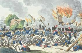 Battle of Ligny, 16th June 1815 (engraving) 16th