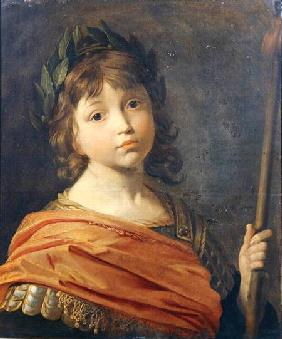 Prince Rupert (1619-82) when a boy as Mars