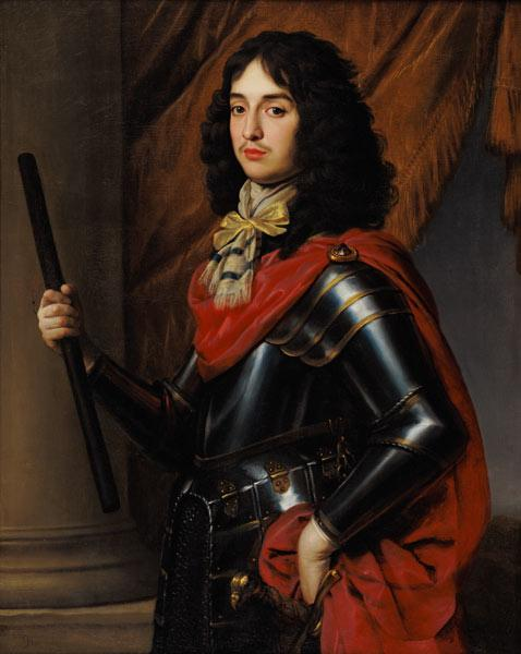 Portrait of Prince Edward of the Palatinate (1625-63) in Armour