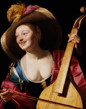 The Viola-da-gamba Player 17th c.