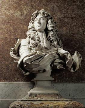 Portrait bust of Louis XIV (1638-1715), 1665