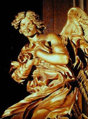 Angel from the tabernacle in the Blessed Sacrament Chapel 1674