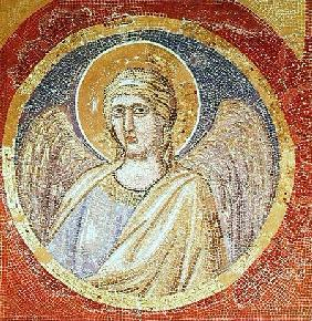 Detail of an angel from the Navicella, the Ship of the Church c.1300