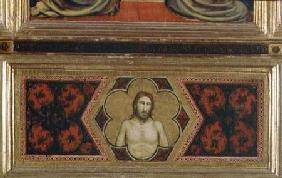 Wounded Christ from the Coronation of the Virgin Polyptych (centre predella)