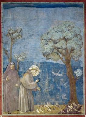 St. Francis Preaching to the Birds 1297-99