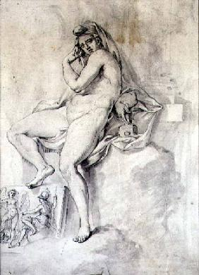 Female Personification of Sculpture c.1770  &