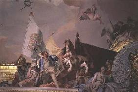 The Glory of Spain I, from the Ceiling of the Throne Room 1764