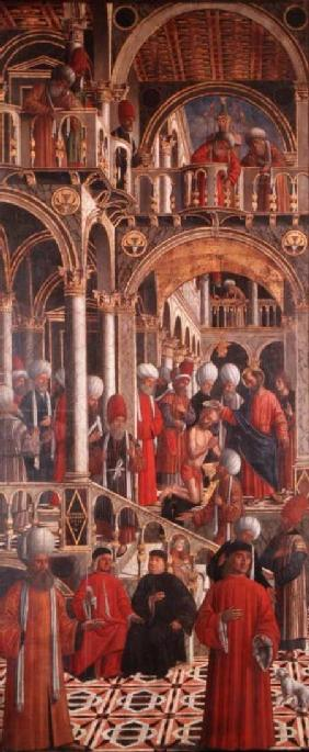 The Baptism of St. Anianus by St. Mark c.1524