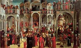 Episodes from the Life of Saint Mark, c.1525 (oil on canvas) 16th