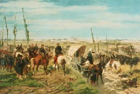 The Italian Camp at the Battle of Magenta 1859