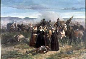 Mary Stuart at the Battle of Langside May 1568
