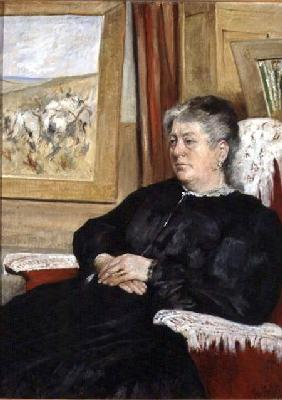 Portrait of the artist's wife 1905