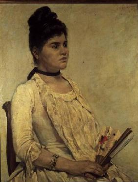 Portrait of the Step Daughter 1889