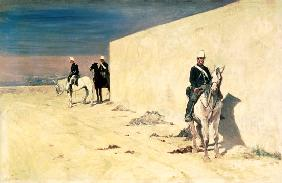 The Watch (The White Wall) c.1871