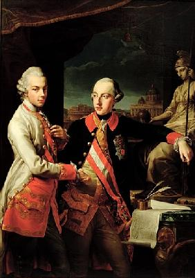 Joseph II (1741-90) of Austria and Leopold II (1747-92) of Tuscany