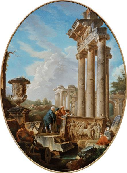 G.P.Pannini / The Archaeologist / 1750