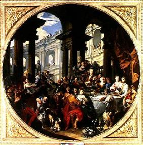 Feast under an Ionic Portico c.1720-25
