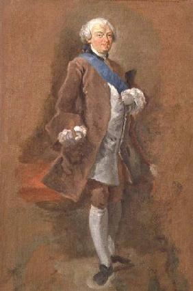 Portrait of the Duc de Choiseul c.1757