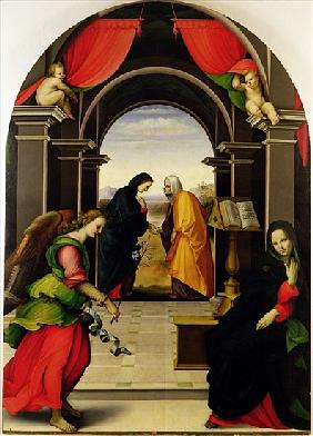 The Annunciation and the Visitation