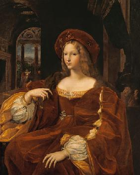 Portrait of Jeanne of Aragon (c.1500-77) wife of Ascannio Colonna, Viceroy of Naples 1518