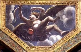 Cupid, ceiling caisson from the Sala di Amore e Psyche 1528