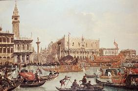 View of the Doge''s Palace and the Piazzetta, Venice