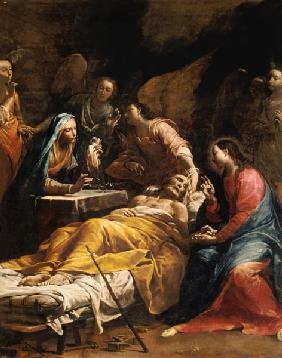 The Death of St. Joseph c.1712