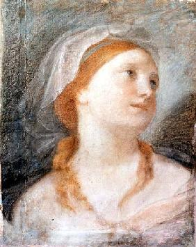 Study of the Head of a Young Woman with Red Hair