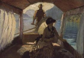 On the Lake of Quattro Cantoni 1881