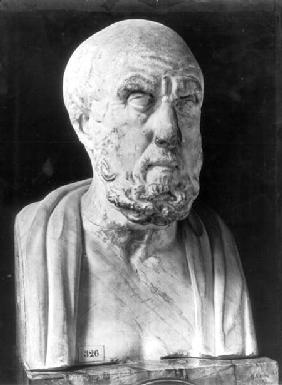 Bust of Hippocrates (c.460-c.377 BC)