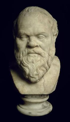 Bust of Socrates (469-399 BC)