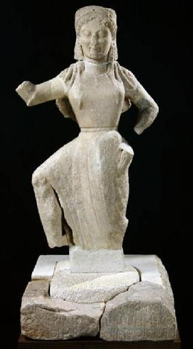Nike, from Delos c.550 BC