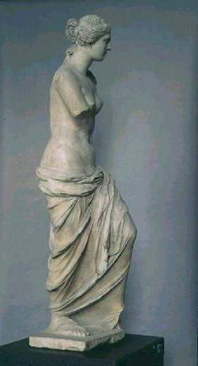 Venus de Milo, side view, Greek, Hellenistic period c.100-130