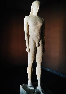 Cycladic Kouros, from Milos c.550 BC