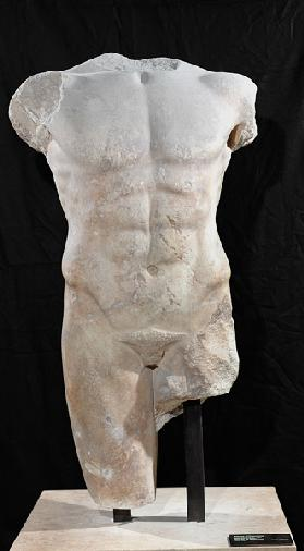 Male torso from Miletus c.480 BC