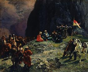 The Meeting of General Kluke von Klugenau and Imam Shamil in 1837