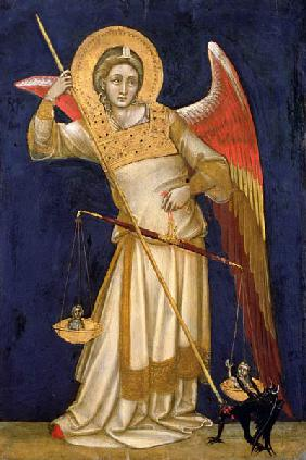 Angel Weighing a Soul 1348-54