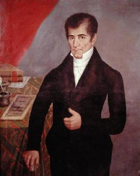 Don Jose Cecilio del Valle (1777-1834)