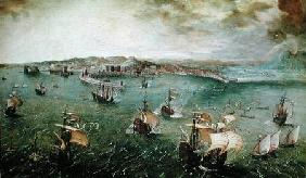 View of the Port of Naples c.1550-69