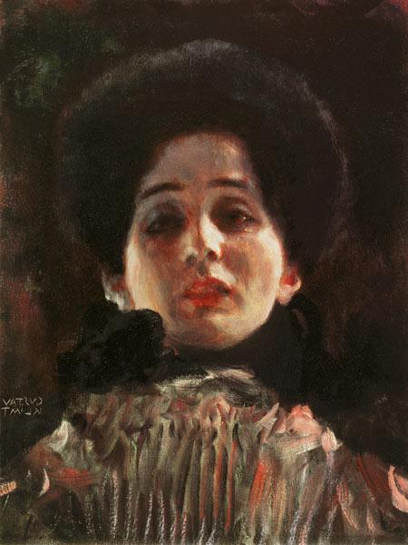 Portrait en face 1898/99