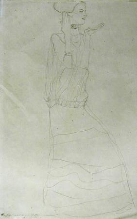 Standing Woman with Raised Hands 1907-08 ci