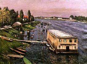 The Pontoon at Argenteuil c.1886-87