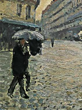 Paris, a Rainy Day 1877