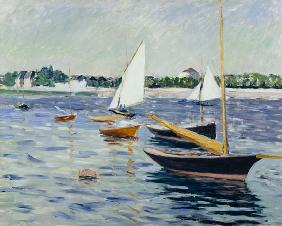 Sailing Boats at Argenteuil 1891