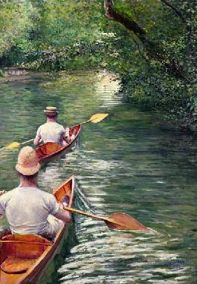 The Canoes, 1878 (oil on canvas) 16th
