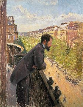 Man on a Balcony c.1880